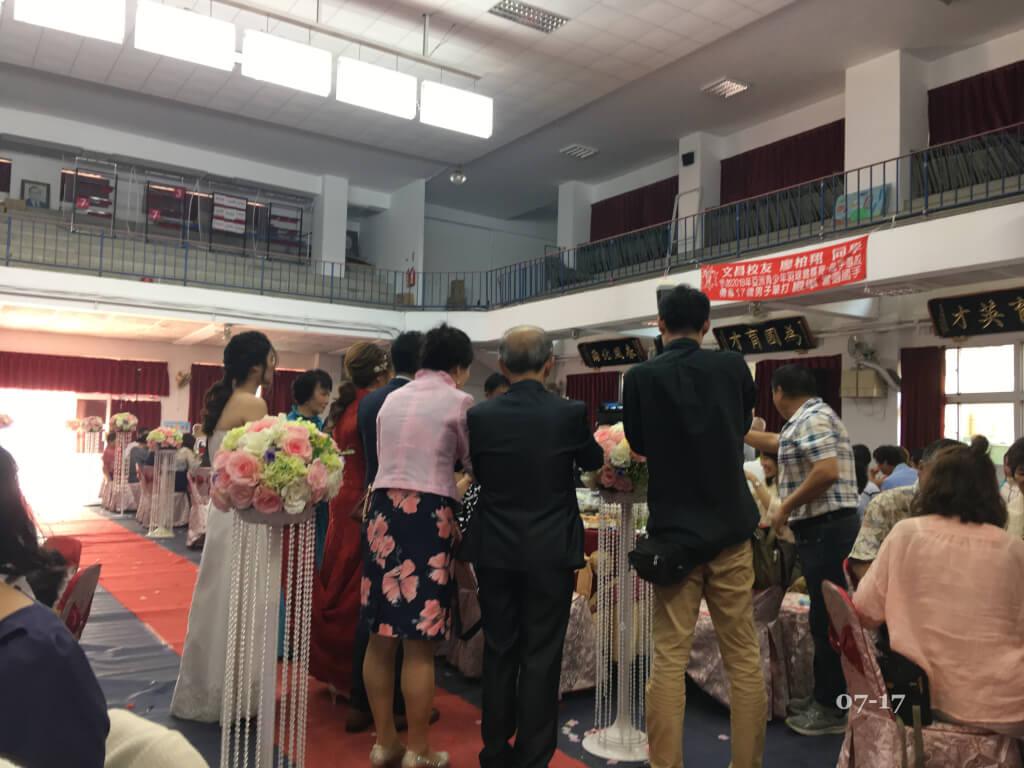 台湾結婚式